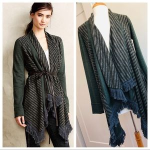 Saturday Sun Anthropologie Elise Blanket Cardigan